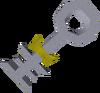 Strange implement detail