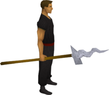 Guthix mjolnir equipped
