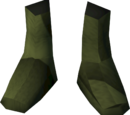 Colonist's shoes (yellow)