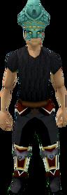 Morwenna's headdress equipped