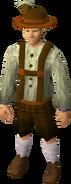Lederhosen clothing (male) equipped