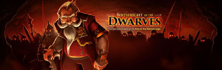 Birthright of the Dwarves banner