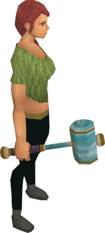 File:Crystal hammer equipped.png
