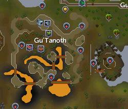 Gu'Tanoth map