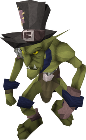 Blue goblin mail equipped