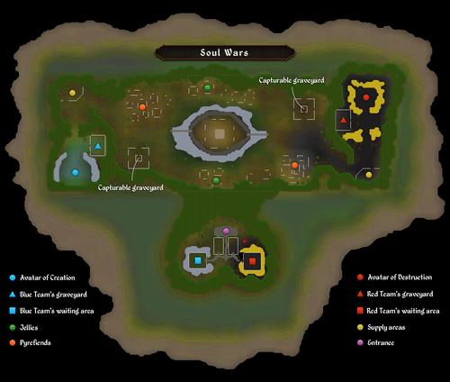 Soul Wars map