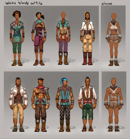 File:Waiko island outfits concept art.png