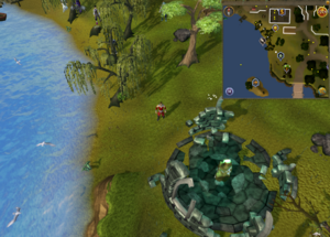 Map clue location Draynor