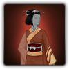 Eastern outfit icon (female)