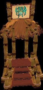 Guthixian Cache portal (inactive)