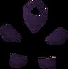 Purple goblin mail detail