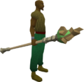 Empowered earth staff equipped.png