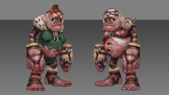 Ogre Infiltrator Concept art