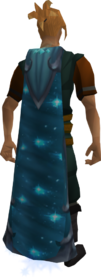 Starfury cape equipped