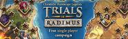 Trails of Radimus lobby banner