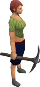 Fractite Pickaxe Runescape Wiki Fandom Powered By Wikia