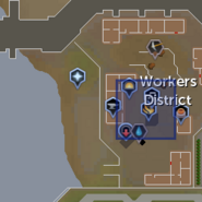 Batal (Worker) location