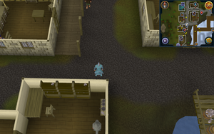 Compass clue Port Sarim south-east of jewellery shop