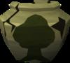 Cracked woodcutting urn (r) detail