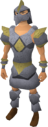 Replica Armadyl armour equipped (male)