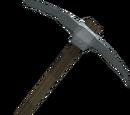 Gorgonite pickaxe