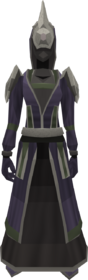 Blightleaf robes equipped