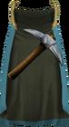 Mining cape (t) detail