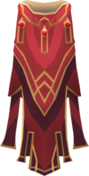 Hooded completionist cape (t) detail