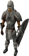 Iron armour set (lg) equipped