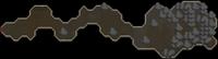 Underground pass end dungeon map
