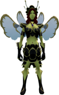 Flourishing Fairy Outfit female equipped