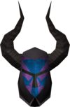 Black helm (h2) detail