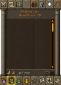 Friends List interface old5