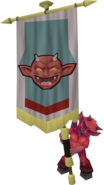 Banner carrier (imp)