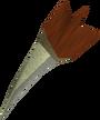 Off-hand dragon dart detail