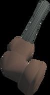 Off-hand warhammer (class 1) detail
