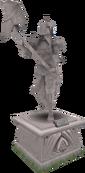 2005 Dharok statue