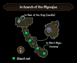 In Search of the Myreque map