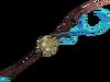 Skeletal steam battlestaff detail