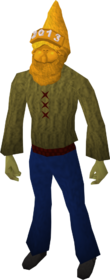 Golden gnome hat 2013 equipped