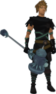 Lunarfury Maul (Tier 1) equipped