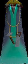 Artisan's cape detail