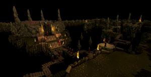 Underground Pass Iban's Maze