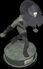 Duellist's cap (tier 1) statue