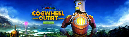 Cogwheel outfit head banner 2