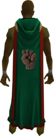 Hooded strength cape (t) equipped