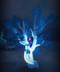 Branching crystal