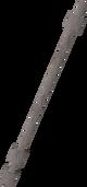 Glassblowing pipe detail