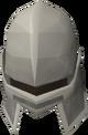 Iron full helm detail