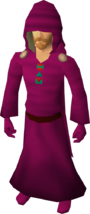 H.A.M. robes equipped